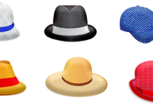 woman's top hat